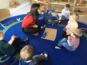 Circle Time in the Toddler Room